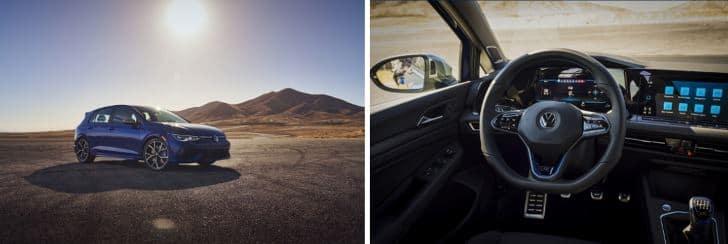 2022 VW Golf R Exterior and Interior