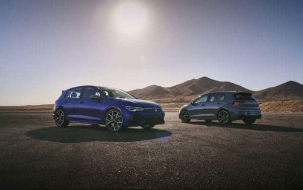 2022 Golf R and Golf GTI