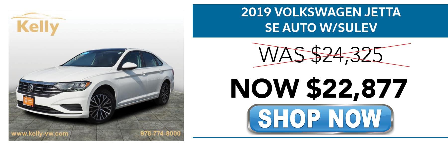 Certified Pre-Owned 2019 Volkswagen Jetta SE Now $22,877