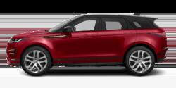 Red 2020 Land Rover Range Rover Evoque