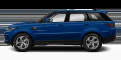 Blue 2020 Land Rover Range Rover Sport