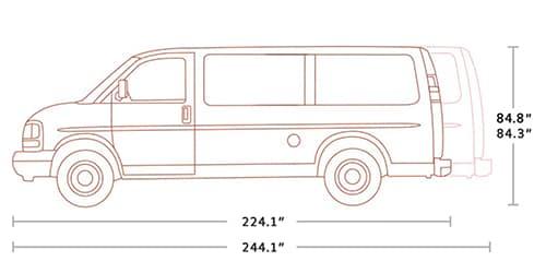 2021 GMC Savana 2500 Cargo Van in St. Louis