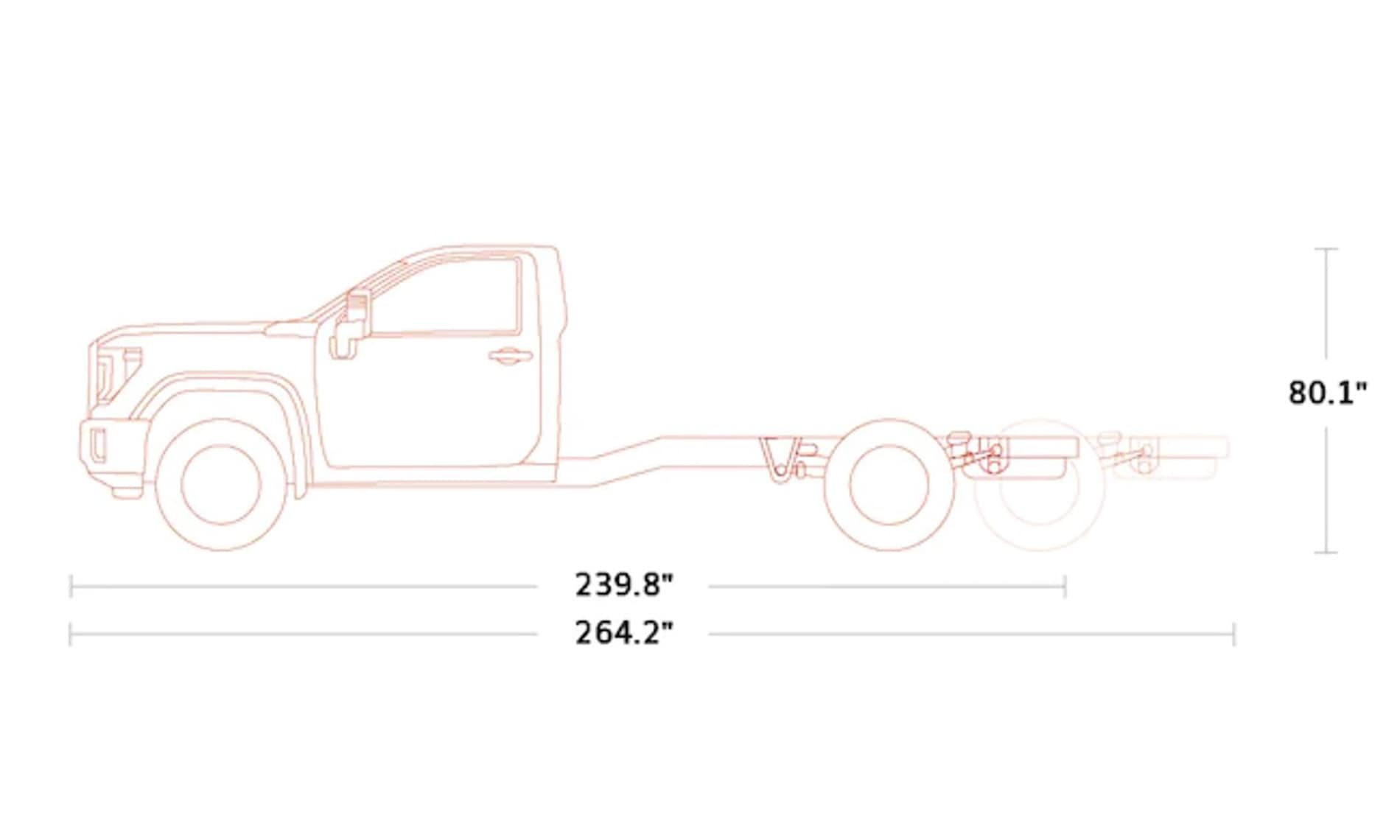 2021 GMC Sierra 3500 HD Regular Chassis Cab in St. Louis