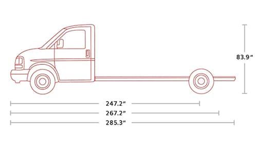 2021 GMC Savana 3500 Cutaway Van in St. Louis