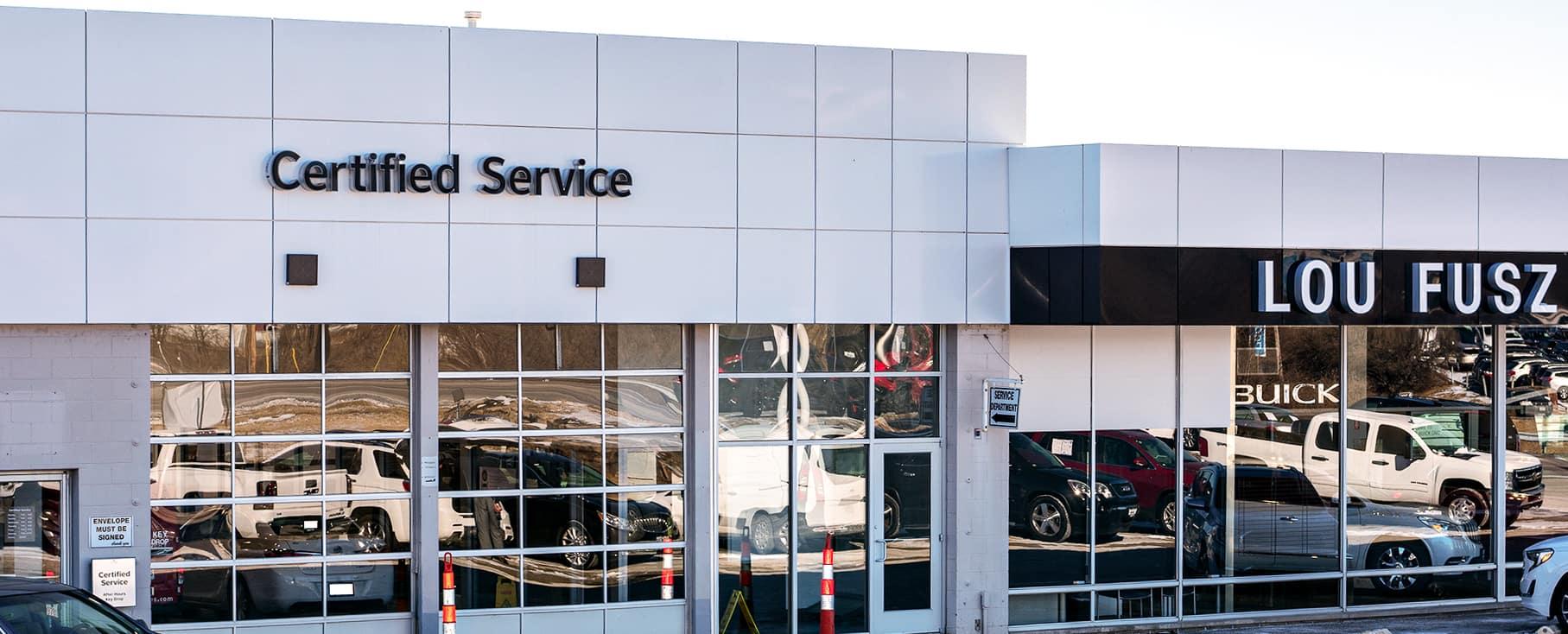 Lou Fusz Buick GMC Certified Service Center