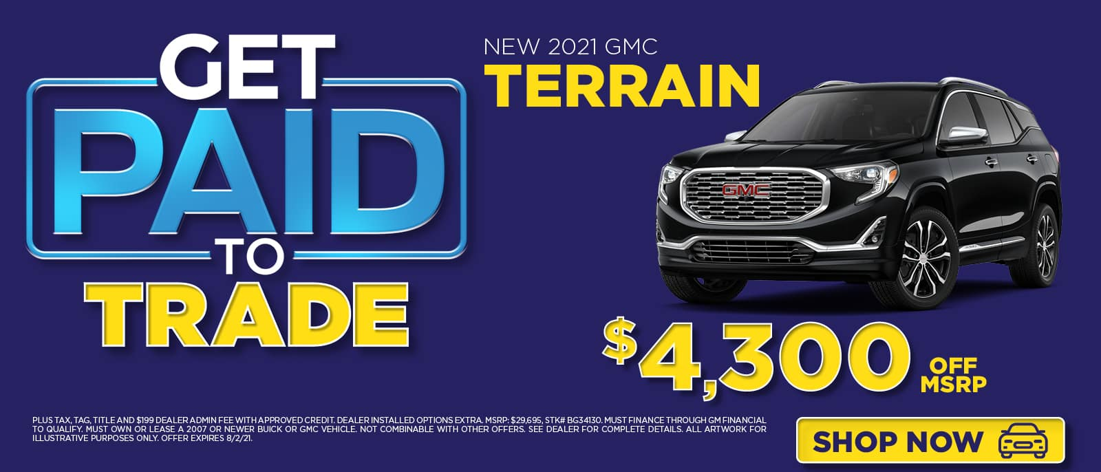 Get Paid to Trade - Terrain