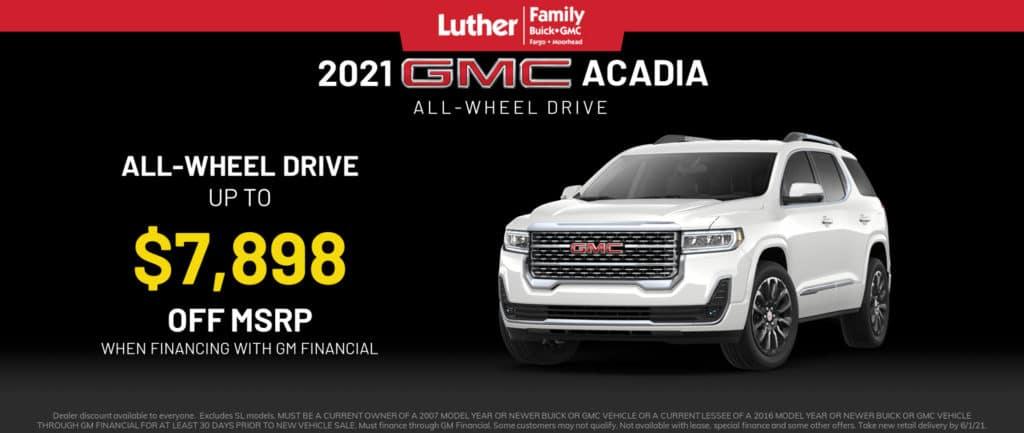 2021 GMC Acadia