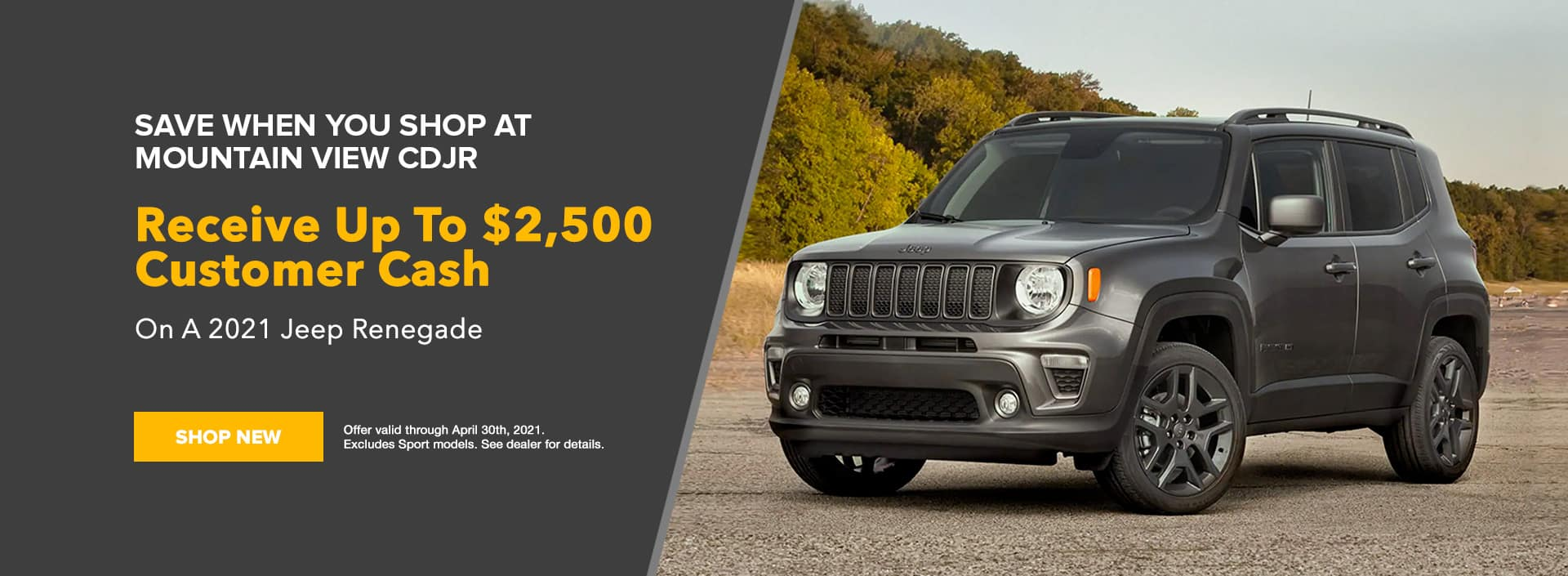 Jeep Renegade Offer