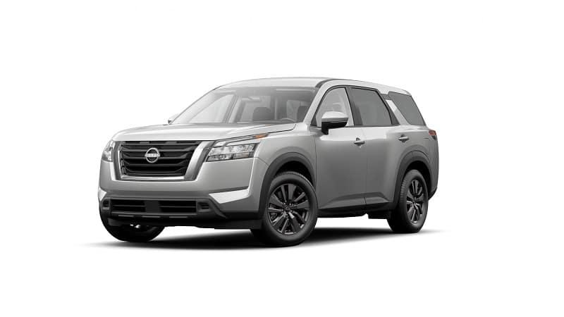 2022 Nissan Pathfinder S 2WD in Brilliant Silver Metallic