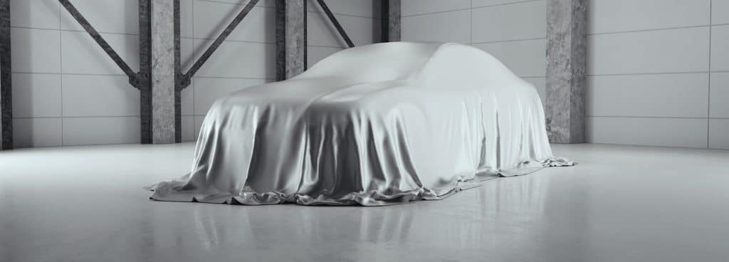 Car Covered By Sheet