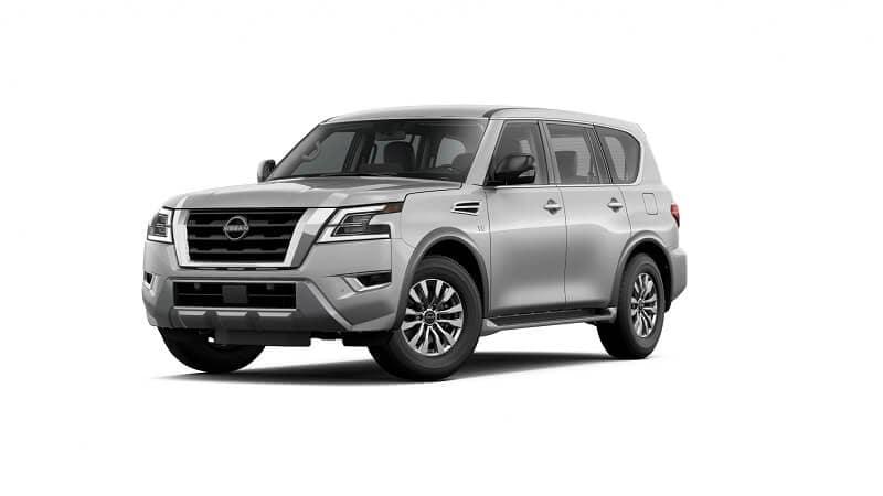 2022 Nissan Armada S in Brilliant Silver Metallic