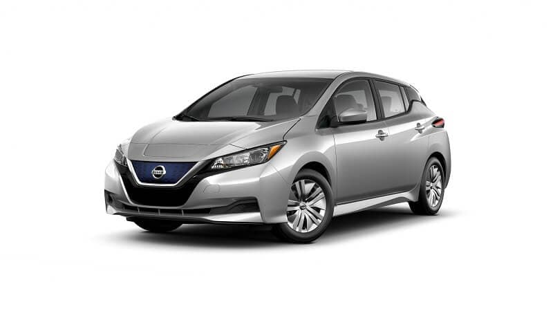 2022 Nissan LEAF S in Brilliant Silver Metallic