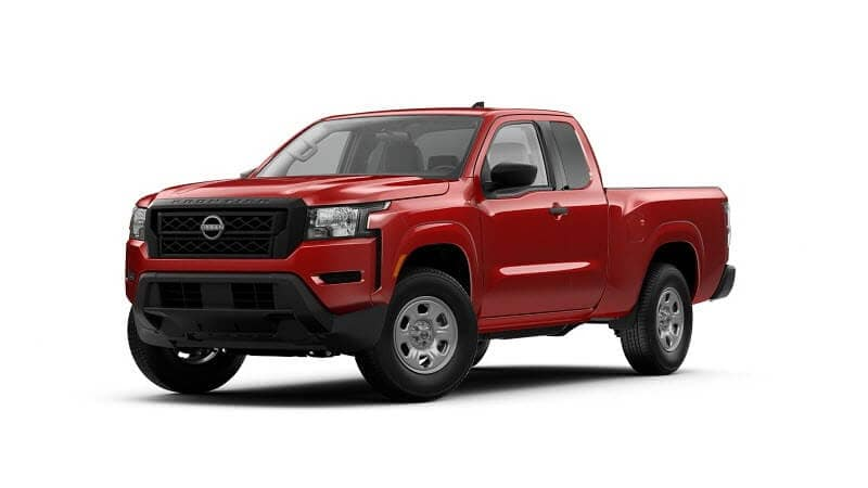 2022 Nissan Frontier King Cab S 4x2 in Red Alert