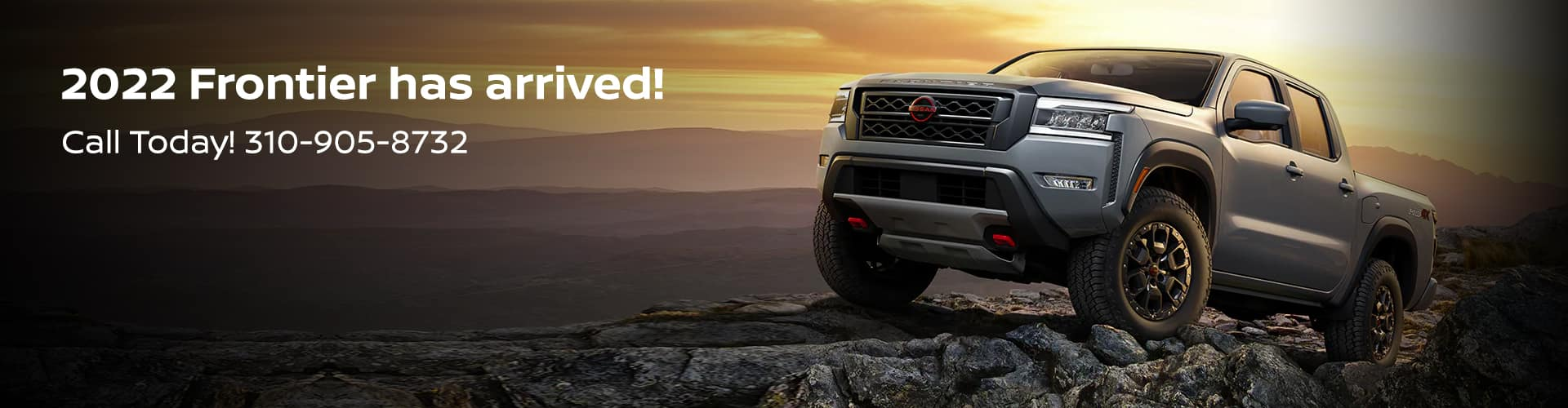 2022 Frontier has arrived! Call Today! 310-905-8732