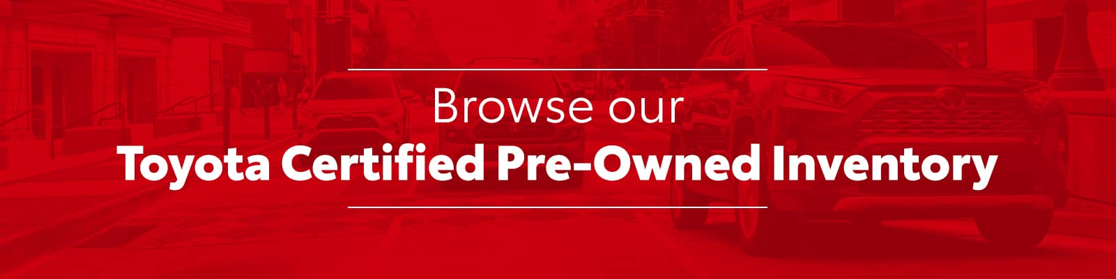 Browse Toyota CPO Inventory