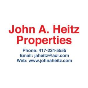 John A Heitz Properties