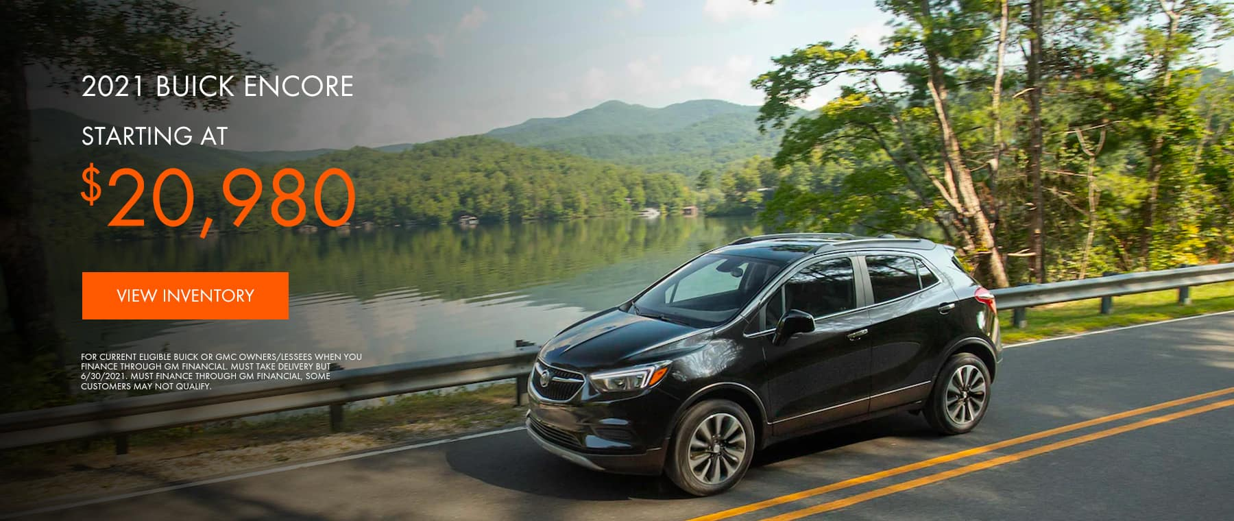 2021 Buick Encore Starting at $2098