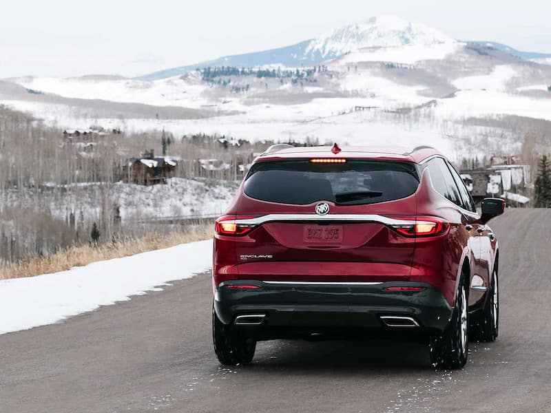2021 Buick Enclave capability and powertrain