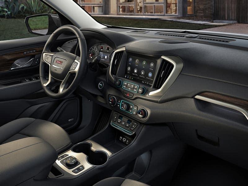 New 2021 GMC Terrain spacious comfortable interior