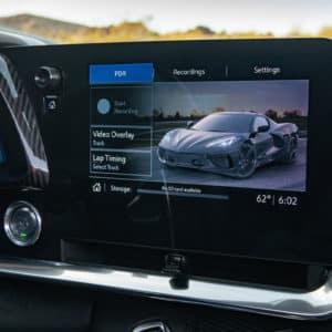 2022 Chevrolet Corvette driver technology