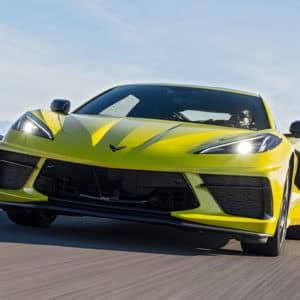 2022 Chevrolet Corvette in Accelerate Yellow Metallic