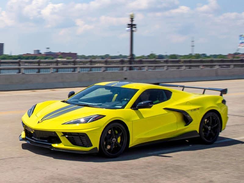 2022 Chevrolet Corvette models and trim levels