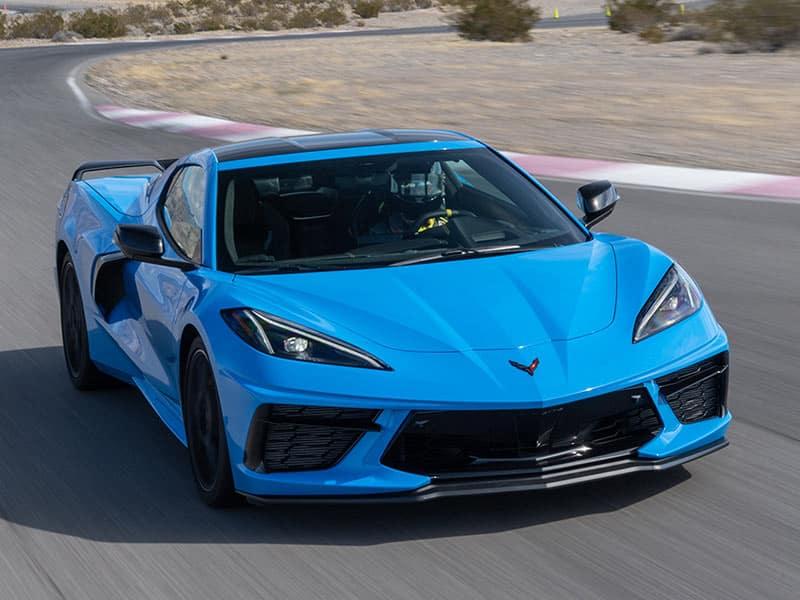 2022 Chevrolet Corvette powertrains and performance