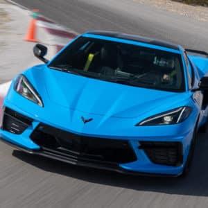 2022 Chevrolet Corvette with Rapid Blue exterior