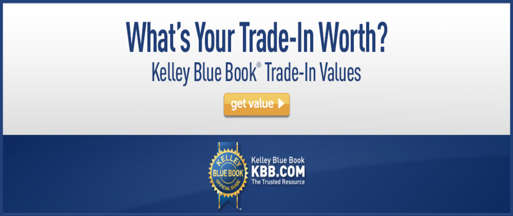 What's Your Trade-In Worth?
