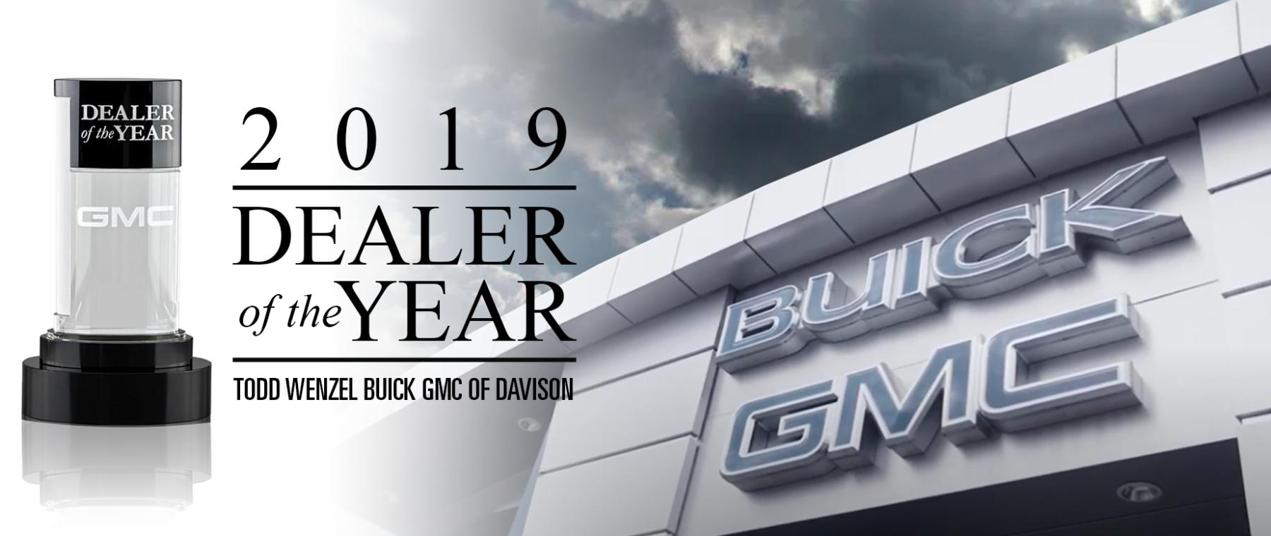 2019 Dealer of the Year Hero