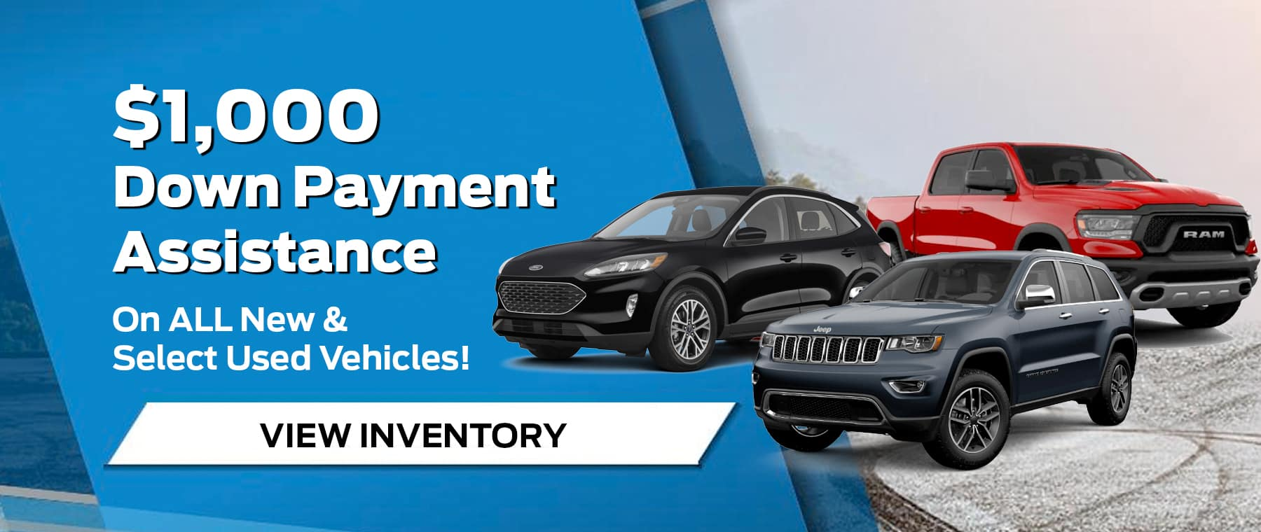 $1,000Down Payment Assistance