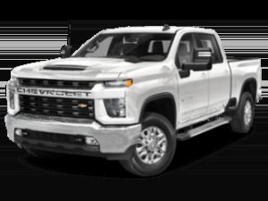 2022 Silverado 4WD Crew Cab in white