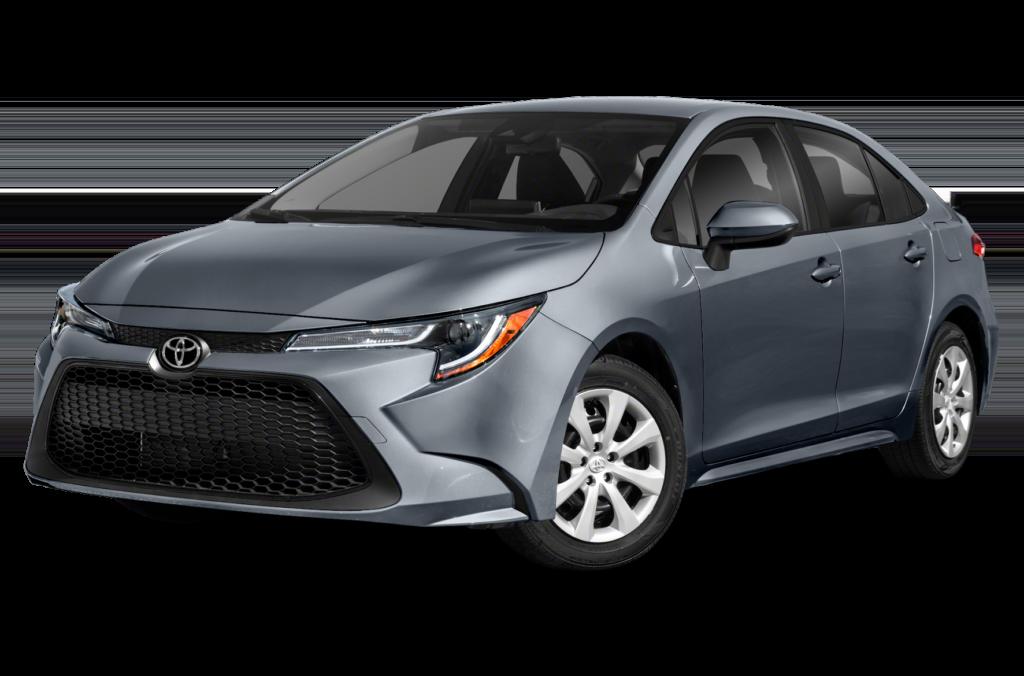 New 2021 Toyota Corolla LE FWD 4D Sedan