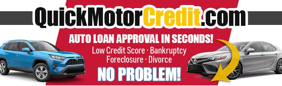 QuickMotorCredit.com - Auto loan approval in seconds