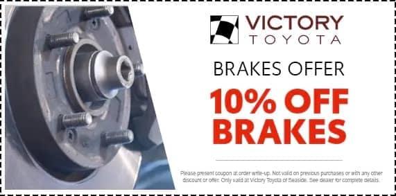 Brakes offer