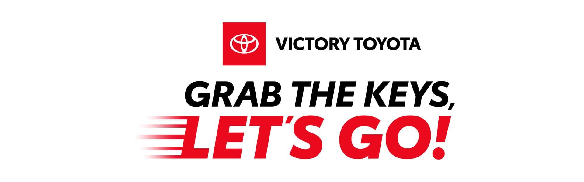Grab The Keys, Let's Go!