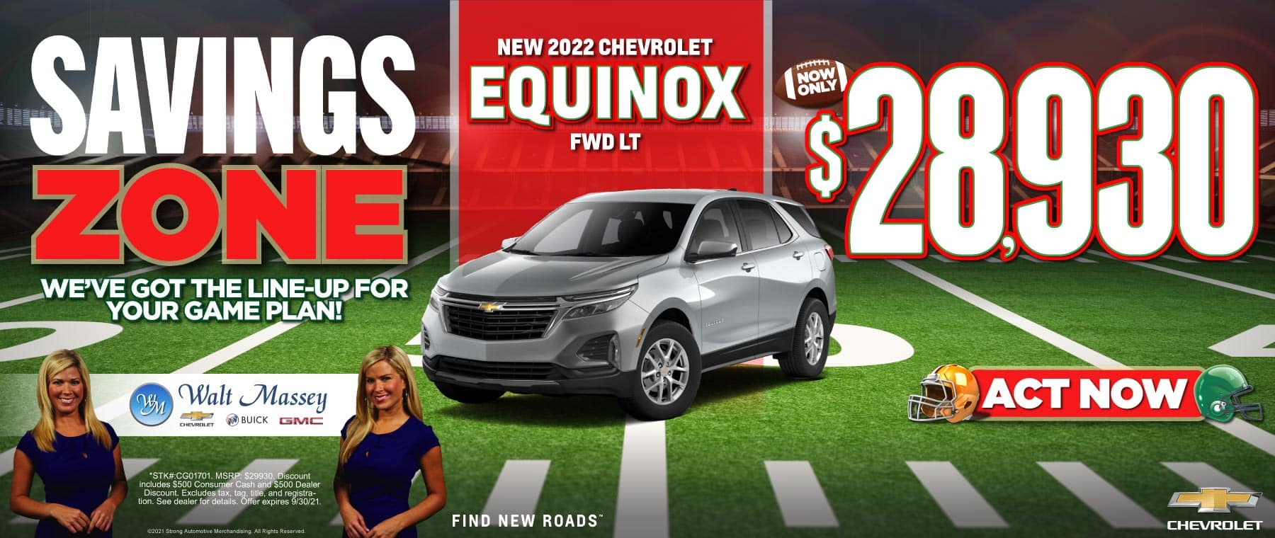New 2022 Chevrolet Equinox FWD LT   Now Only $28,930   ACT NOW